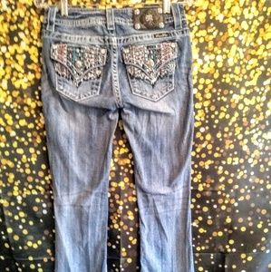 Miss Me Jeans 27 Signature Bootcut Southwestern